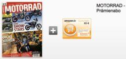 26 Ausgaben der Zeitschrift MOTORRAD für effektiv 44,20€, sonst im normalen Abo 109€!