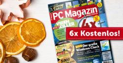 6 Ausgaben PC Magazin mit 3 DVD kostenlos bestellen @MAGCLUB
