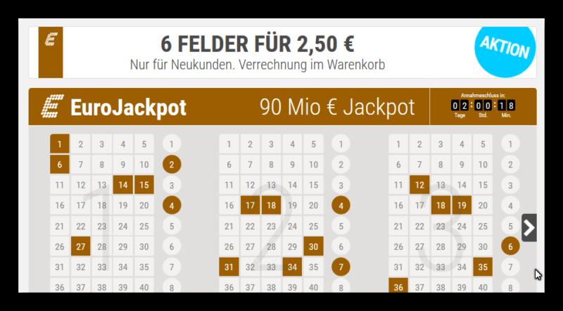 90 Mio Jackpot