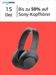 Amazon Prime Deals @ Bis zu 50% auf Sony Kopfhörer – z.B. Sony MDR-V55/BR DJ Kopfhörer für 34,99 Euro [ Idealo 46,27 Euro ]