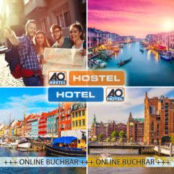 Ebay: 3 Tage Kurzurlaub in einer Stadt deiner Wahl (22 Städte – 6 Länder – 34 Hostels) für nur 29 Euro