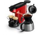 Favorio: B-Ware Philips Senseo Switch HD7892/60 rot für 79,90 Euro inkl. Versand ( Testericht: Sehr gut ) [ Idealo 105,99 Euro Neuware ]