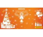 Medion: Adventskalender 24 Tage 24 Deals z.B. heute 20 Euro Rabatt auf das 10,1 Zoll Android 6.0 LIFETAB P10505