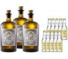 Monkey 47 Gin im 3er Pack + 20Fl. 0,2l Indian Tonic für 98,70€ (idealo 122€) @gourmondo.de