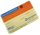 Organspendeausweis als Plastikkarte im Scheckkartenformat kostenlos bestellen