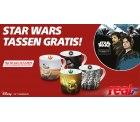 real,-: 4 StarWars Tassen kostenlos im Geschäfft abholen