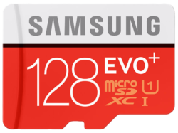 SAMSUNG EVO+ MicroSDXC Card Class 10 128 GB für 29 € (38,99 € Idealo) @Media-Markt