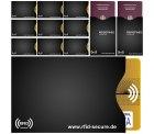 Amazon: RFID & NFC Schutzhüllen 12er Set (für Kreditkarte, EC-Karte und Reisepass) mit Gutschein für nur 0,89 Euro statt 11,89 Euro