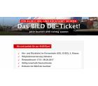 Bild.de: DB-Ticket: Hin- und Rückfahrt im Fernverkehr für 44,90 Euro