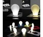 Gearbest: Ultradünne ausklappbare LED-Leuchte im Glühbirnendesign für 0,09 Euro statt 0,75 Euro dank Gutschein-Code