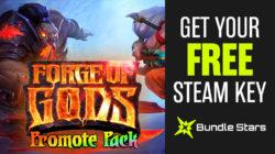Gleam:  Kostenlos Forge of Gods- Promote Pack [ Steam ] statt 19,99 Euro