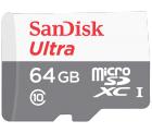 Mediamarkt: SANDISK Ultra micro-SDXC 64 GB Speicherkarte für nur 14 Euro statt 19,48 Euro bei Idealo