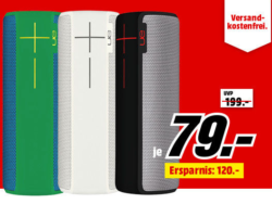Mediamarkt ultimate ears ue boom 2 bluetooth lautsprecher for Housse ultimate ears boom 2