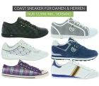 Outlet46: 11 verschiedene COAST Damen und Herren Sneaker für nur je 12,99 Euro satt 27,99 Euro bei Idealo