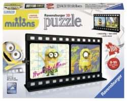 Ravensburger 3D-Puzzle 11208 – Filmstreifen Minion, Natural, bunt für 4,76€ [idealo 11,94€] @Amazon [Plus-Produkt]