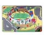 Spielteppich Kinderteppich Mein Fussballstadion von Teppino (100x150cm)  für 9,99€ inkl. Versand [idealo 41,54€] @Amazon