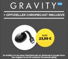 Wuaki.tv: Google Chromecast 2 + GRAVITY HD Stream für 23,99 Euro inkl. Versand [ Idealo 37,98 Euro ]