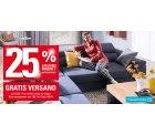25% Rabatt auf fast alles + Versandkostenfrei ab 10€ Bestellwert @Höffner