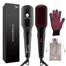 Amazon: 2-in-1 Ionischer Haarglätter Bürste MCH Glätteisen mit Gutschein für nur 19,99 Euro statt 39,98 Euro