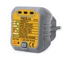 Amazon: Tacklife EST02 Steckdosen Tester (Automatischer Stromkreis-Detektor Polaritätsprüfer) mit Gutschein für nur 5,99 Euro statt 9,99 Euro