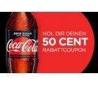Coca-Cola: 0,50 cent Rabatt Coupon für die neue Coca-Cola Zero Sugar 0,5 Liter Flasche