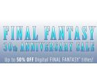 Diverse Final Fantasy PC Versionen bis zu 50% reduziert.