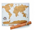 eBay: Rubbel Weltkarte XL zum Freirubbeln (Versand aus HongKong) für 3,41 Euro [ Idealo 9,89 Euro ]