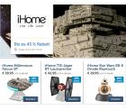 iHome Bluetooth-Lautsprecher im Star Wars Look im Flash-Sale @iBOOD z.B. Star Wars BB-8 Droide für 29,95 € + VSK (42,90 € Idealo)