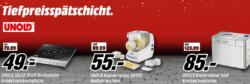 Mediamarkt: Haushaltsgeräte in der Tiefpreisspätschicht z.B. UNOLD 78245 Saft Bar Entsafter für nur 66 Euro statt 88,34 Euro bei Idealo