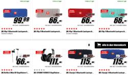 Mediamarkt: JBL Bluetooth Kopfhörer und Lautsprecher in der Tiefpreisspätschicht z.B. JBL FLIP3 für nur 66 Euro statt 79,90 Euro bei Idealo