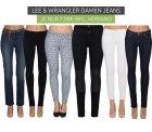 Outlet46: 78 Lee und Wrangler Jeans für je 7,99 Euro statt 33,85 Euro bei Idealo