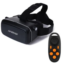 Amazon: Andoer CST-09 DIY 3D VR Version Brille mit Bluetooth 3.0 Gamepad für 12,99 Euro statt 18,99 Euro