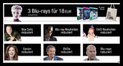 Amazon Filmwochen: Über 1.000 Stunden Unterhaltung reduziert – z.B 3 Blu-rays für 18 Euro
