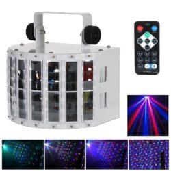Amazon: Lixada 24W RGBW LED Disco Lichteffekte mit Sprachsteuerung für 25.19 Euro statt 41,99 Euro dank Gutschein