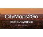 City Maps 2Go Pro (Offline Karten und Reiseführer) für Android und iOS mit Gutscheincode GRATIS statt 9,99 €