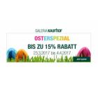 Galeria Kaufhof Osterspezial – Bis zu 15% Rabatt auf fast alles