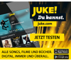 Juke Musikflat 3 Monate lang kostenlos testen statt 30 Tage ( nicht selbstkündigend )
