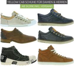 outlet46 40 verschiedene yellow cab schuhe f r damen und. Black Bedroom Furniture Sets. Home Design Ideas