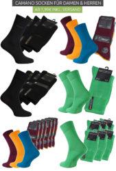 Outlet46: Camano Socken für Damen und Herren ab 1,99 Euro statt 12,99 Euro bei Idealo