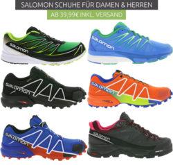 Outlet46: Salomon Schuhe für Damen und Herren ab 39,99 Euro