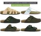Outlet46: SOFTWAVES Damen & Herren Sandalen ab 12,99 Euro inkl. Versand [ Idealo 19,86 Euro ]