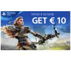 PlayStation Store: Für über 50 Euro einkaufen und 10 Euro Gutschein geschenkt bekommen