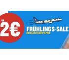 Ryanair: Flüge ab 2 Euro im Frühlings-Sale