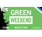 Viele Technik-Schnäppchen im Green-Weekend @Cyberport z.B. 2 Stück Amazon Fire 7 Tablets für 59,90 € (109,98 € Idealo)