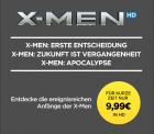 Wuaki.tv: 3 X-Men Filme als HD für 9,99 Euro als download [ Idealo 24,74 Euro ]