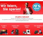 14 Jahre Redcoon – bis zu 70% Rabatt auf Technik z.B. Jamo S 628 Esche Schwarz Standlautsprecher für 149 € (245 € Idealo)
