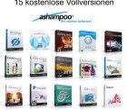 19 verschiedene kostenlose Vollversionen von Ashampoo – z.B.AntiSpy for Windows 10