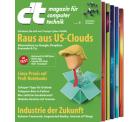 3x ct Print oder Digital Ausgabe gratis testen @Heise.de