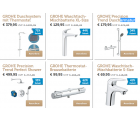 Grohe Armaturen Flash-Sale @iBOOD z.B. GROHE Euroeco Waschtischarmatur...