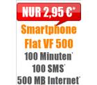 Handybude: Klarmobil (Vodafone-Netz) mit 100 Freiminuten & SMS + 500 MB für nur 2,95 Euro im Monat statt 9,95 Euro